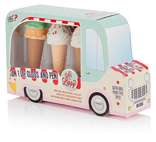 NPW-USA Ice Cream Van 2-in-1 Lip Gloss and Pen Gift Set