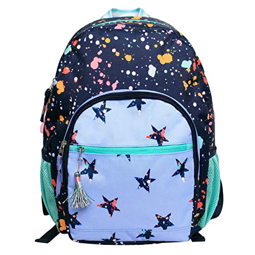 Cat & Jack Kids' Backpack - Splatter Star, 17