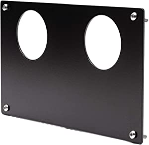 UTV INC Yamaha Rhino 2 Gauge Mounting Dash Panel Plate