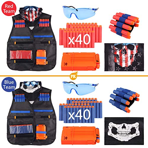 UWANTME Tactical Vest Kit 2 Pack for Nerf Guns N-Strike Elite Series by UWANTME (Image #1)
