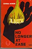 No Longer at Ease, Achebe, Chinua, 0839250088
