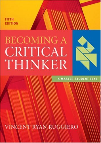 Becoming a Critical Thinker (Master Student)