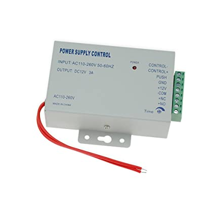 acceso Control fuente de alimentación AC 110 – 240 V a DC 12 V 3 A