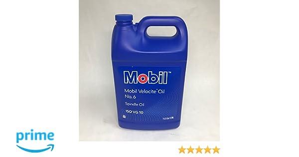 Mobil 100848 100848 Velocite No 6, 1 Gal, No 10 Iso Viscosity Grade