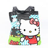 Hello Kitty Santb0573 Tote,Blue,One Size, Bags Central