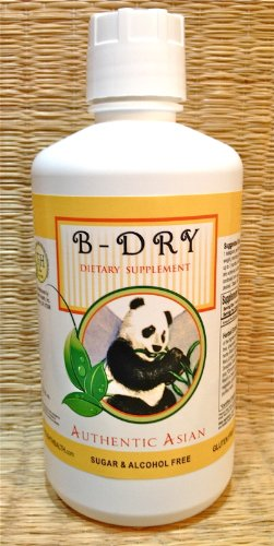 B-Dry (32 oz Bottle) - Bedwetting & Incontinence Support, Child safe. Liquid extract, Alcohol & Sugar Free. Dr. Kang's formula. Used Safely and Effectively for over 20 years. by TriLight Health