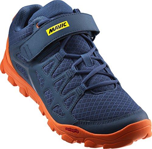 Mavic - Zapatillas de ciclismo de Material Sintético para hombre azul azul/naranja