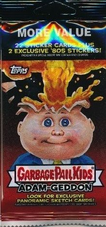 2017 TOPPS GARBAGE PAIL KIDS ADAM-GEDDON FAT PACK - 24 STICKER CARDS