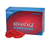 Alliance Sterling Advantage Red Rubber Band Size No.64 (3 1/2 x 1/4-Inch), 1 Pound Box (Approximately 300 Bands Per Pound) - 96645