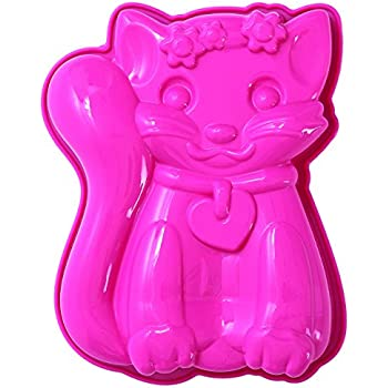 Amazon Com Wilton Kitty Cat Kitten Cake Pan 2105 1009