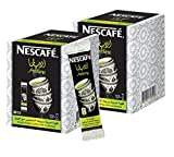 Instant Nescafe Arabiana Arabic Coffee Mix With Cardamom Flavor - Small Sticks (2 Boxes (40 Sticks))