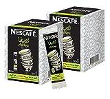 Instant Nescafe Arabiana Arabic Coffee Mix With Cardamom Flavor - Small Sticks (2 Boxes (40 Sticks))