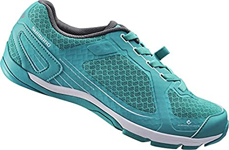 SHIMANO SHCW41C360G Zapatillas de Ciclismo de Carretera, Mujer, Verde (Green), 36 EU: Amazon.es: Zapatos y complementos