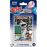 TRADING_CARDS_MISC_TRADING_CARDS  Amazon, модель New York Yankees 2018 Topps Factory Sealed 17 Card Limited Edition Team Set with Aaron Judge, Gary Sanchez, Giancarlo Stanton and others!, артикул B07B8935V8
