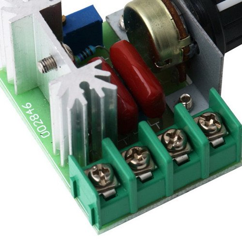 220v 2000w SCR Voltage Regulator Motor Dimmers Thermostat Speed Controller by Unknown (Image #3)