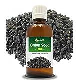 ONION SEED OIL(ASPHODELUS TENUIFOLIUS) 100% NATURAL PURE CARRIER OIL 15ML