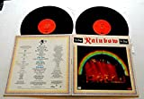 Rainbow ON STAGE - Oyster Records 1977 - USED Vinyl DOUBLE LP Record Album - 1977 Pressing - Ritchie Blackmore - Ronnie James Dio - Cozy Powell - Man On The Silver Mountain