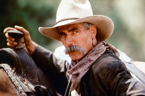 Sam Elliott as Virgil Earp by horse Tombstone 24X36 Movie Poster Silverscreen