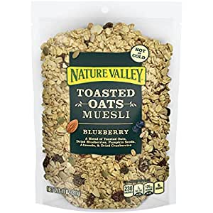 Nature Valley Muesli Cereal Blueberry 11 oz Box