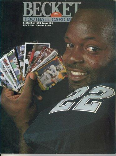 Beckett Football Card Magazine #30 : Dallas Cowboys' Emmitt Smith (September 1992)