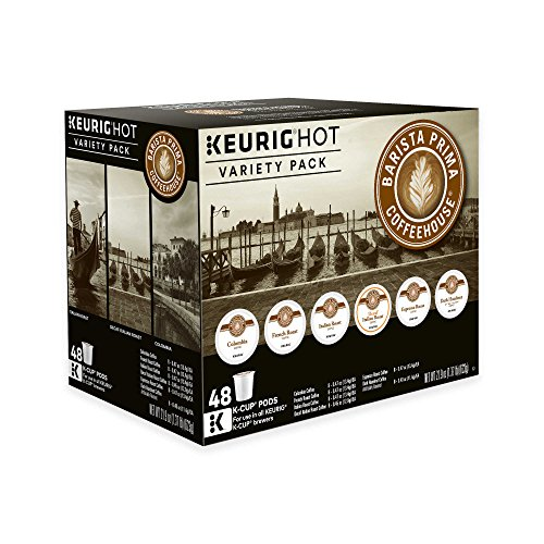 Keurig K-Cup Pack 48-Count Barista Prima Coffeehouse Variety Pack