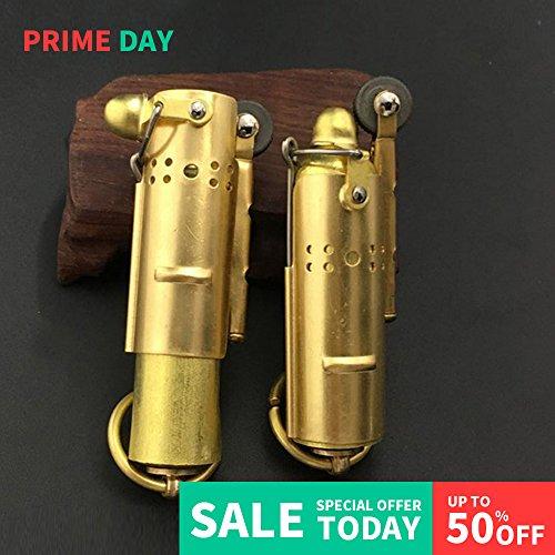 Collectable Vintage Trench lighter Stainless Steel kerosene oil lighter Retro