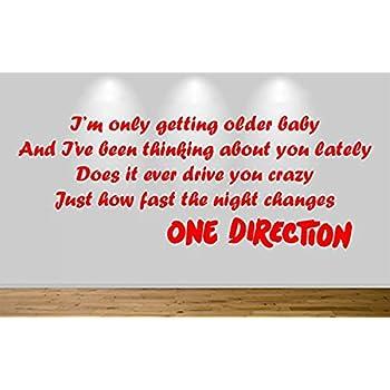 Amazon com: One Direction 1D the Story of My Life Lyrics