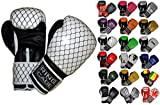 Gym Training Stand-Up Boxing Gloves (Cage Printed, Regular-12oz)