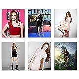 Karen Gillan Celebrity Art Photos - Set of 6 (8x10) Poster Prints - Jumanji - Avengers - Model -