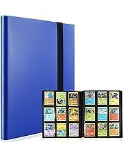 Verzamelalbum met 9 vakken voor verzamelkaarten, verzamelkaarten, verzamelkaartenalbum, kaartenalbums, verzamelkaartenalbums met 360 kaartcapaciteit, kaarthouder voor Pokemon, YuGiOh enz