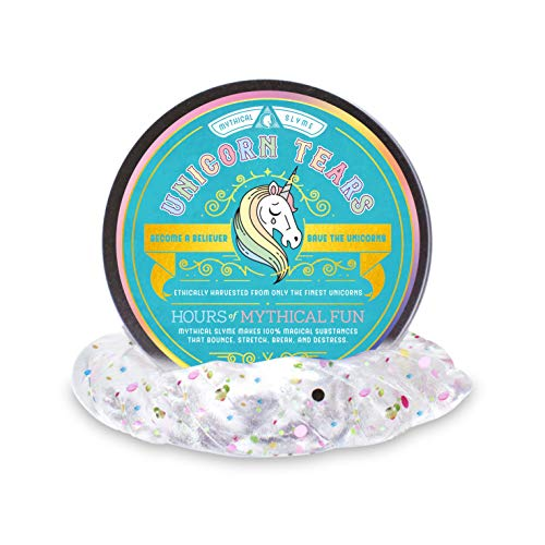 y - Unicorn Puddy - Unicorn Gifts and Unicorn Toys - Magical Glitter Slime Squishie and Glitter Putty (Tears)  ()