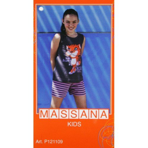 CAL FUSTER Pijama Massana de Verano Niña Talla 14