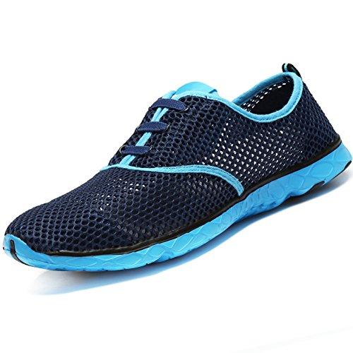 Asciugatura Rapida Donna Summer Water Walking Leggera Ad Navy Mesh up Shoes Casual Traspirante Lace Aqua Uomo Beach qUUxwvz4