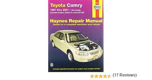 Haynes toyota camry 97 01 manual 5055415932311 amazon books fandeluxe Choice Image
