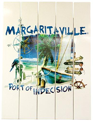 Margaritaville Outdoor APSSR115-MV Wall Art, 24.00 x 2.00 x 18.00, Port of Indecision ()