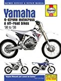 Yamaha YZ & WR 4-Stroke Motocross & Off-road Bikes, '98 to'08 (Haynes Service & Repair Manual)