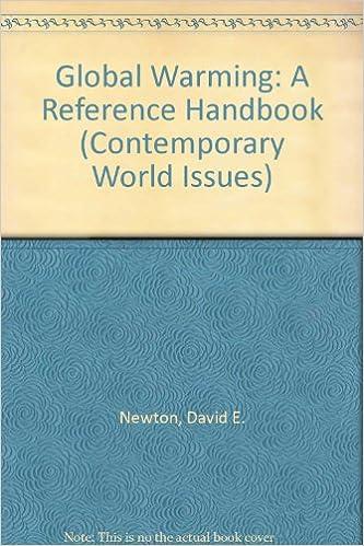 Ilmaiset lataukset bookworm Global Warming: A Reference Handbook (Contemporary World Issues) 0874367115 PDF DJVU FB2