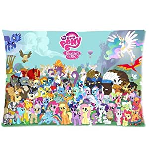 Cartoon My Little Pony Twilight Sparkle Unicorn Custom Standard Pillowcase DIY Pillowslips Roomy in Size 20*26