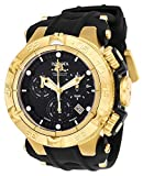 Invicta Men's Subaqua Stainless Steel Quartz Watch with Silicone Strap, Black, 29 (Model: 25354)