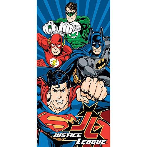 JP Import DC Comics Justice League Power Superman, Batman, Flash & Green Lantern Fiber Reactive 30