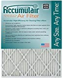 Accumulair Emerald 17.25x26x4 (Actual Size) MERV 6 Air Filter/Furnace Filters (4 Pack)