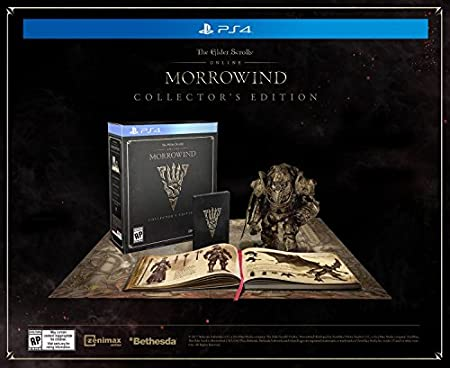 The Elder Scrolls Online: Morrowind - PlayStation 4 Collector's Edition