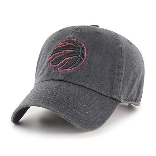 NBA Toronto Raptors Male OTS Challenger Adjustable Hat, Dark Charcoal, One Size
