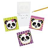 Panda Party Favor Paper Notepads - 24 ct