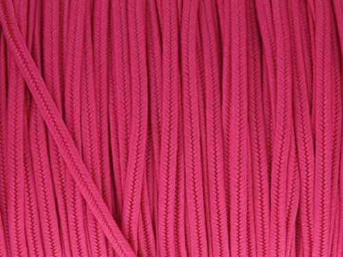 - BeadSmith Polyester Soutache Cord 144 yard spool (Deep Pink)