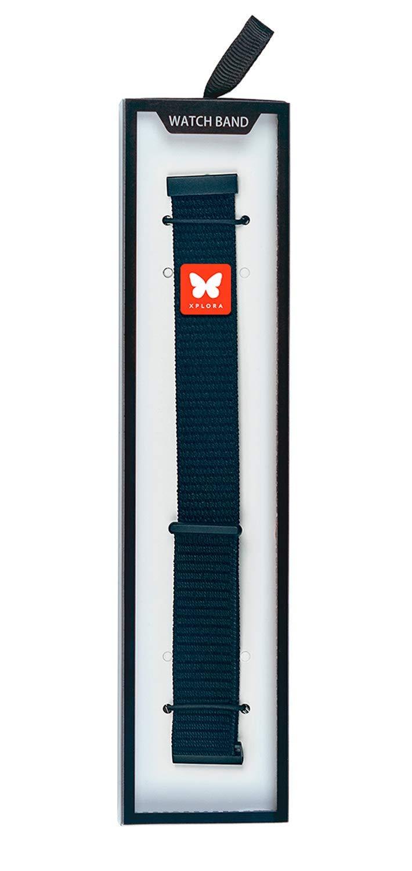 XPLORA X1/CARE Correa Reloj Nylon Premium | 110mm x 22mm | Barra ...