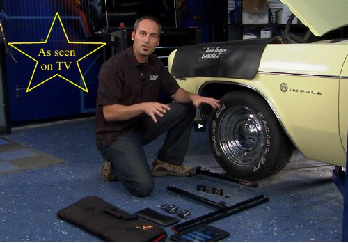Pro System DIY Wheel Alignment Set up for BOTH Sides QuickSlide System w/Case Portable Wheel Alignment by QuickTrick (Image #2)
