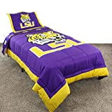 College Covers Louisiana State Tigers Reversible Comforter Set - Twin