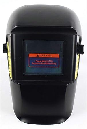 Icegrey Careta de Soldar Oscurecimiento Automático Casco de Soldadura Banda de Cabeza Ajustable para Aplicaciones de