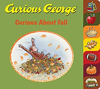 Book Cover: Curious George Curious About Fall